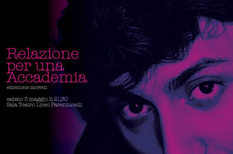 """Comunicato Stampa: sabato 3 maggio a nin """"Relazione per un Accademia"""""""
